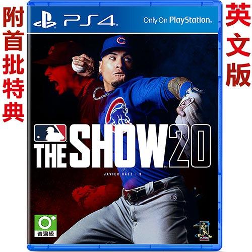 PS4 美國職棒大聯盟20 (MLB The Show 20) 英文版
