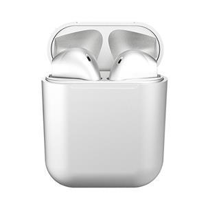 MusicRIDER BE21 Plus 金屬磨砂 真無線藍牙耳機-白