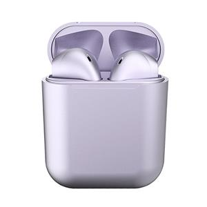 MusicRIDER BE21 Plus 金屬磨砂 真無線藍牙耳機-紫