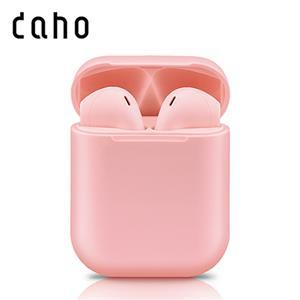 daho 馬卡龍 智能觸控無線藍牙耳機-HB05-粉紅
