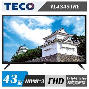 TECO東元 TL43A5TRE 43吋 FHD 液晶顯示器+視訊盒TS1318TRA