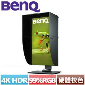 R1 【福利品】BENQ SW271 4K HDR 27型專業攝影修圖螢幕.