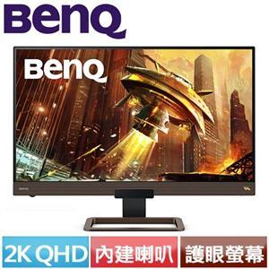 R1【福利品】BENQ 27型 EX2780Q 類瞳孔遊戲護眼螢幕