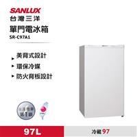 台灣三洋97L單門電冰箱  SR-C97A1