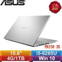 【加8G+SSD】ASUS X509FJ-0131S8265U 15吋冰河銀