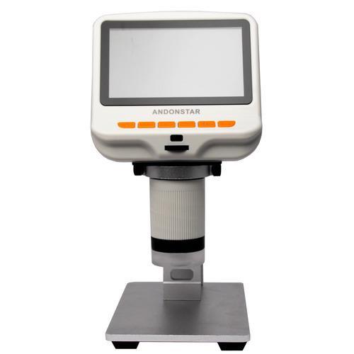 Andonstar AD105S 4.3吋螢幕USB數位電子顯微鏡+LED底座平台