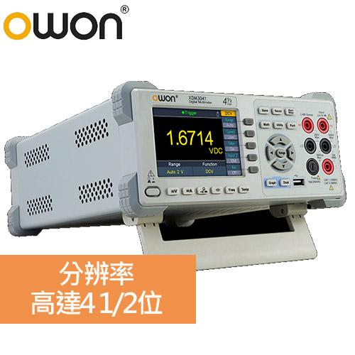 OWON XDM3041 四位半桌上型紀錄/圖表電表