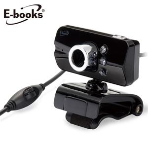 E-books W10 網路HD高畫質LED燈視訊攝影機