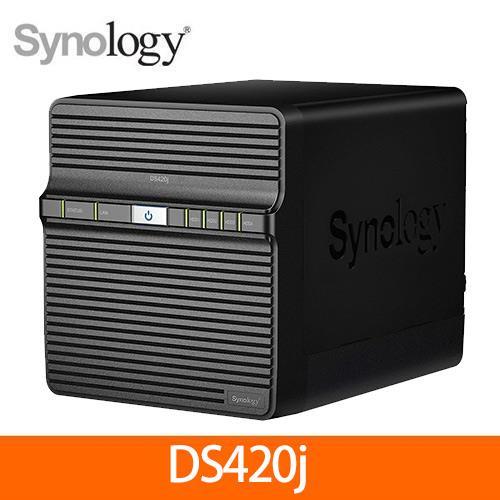 群暉科技Synology DS420j 4Bay 網路儲存伺服器