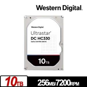 WD Ultrastar DC HC330 10TB 3.5吋企業級硬碟
