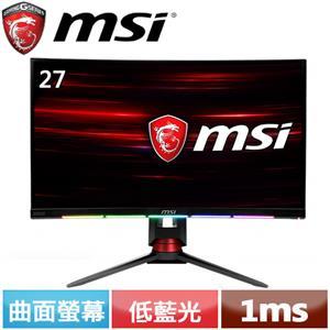 MSI微星 27型 MPG27CQ2 電競曲面螢幕