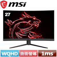 MSI微星 27型 Optix G27CQ4 VA曲面螢幕