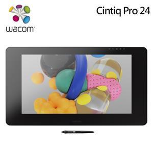 Wacom Cintiq Pro 24HD Touch 4K 高畫質觸控繪圖螢幕