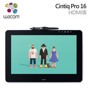 Wacom Cintiq Pro 16 觸控繪圖螢幕(HDMI版)