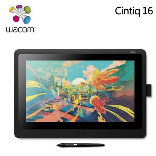 Wacom  Cintiq 16 筆式繪圖螢幕 DTK-1660