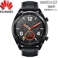 【福】HUAWEI華為 WATCH GT 智慧手錶 運動款(曜石黑矽膠錶帶