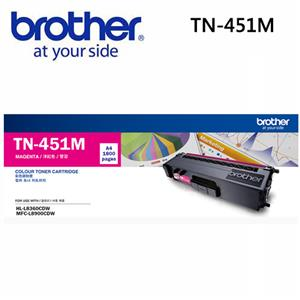 Brother TN-451M原廠標準容量紅色碳粉匣