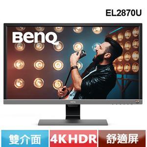 R1【福利品】BENQ EL2870U 28型 4K HDR 舒視屏護眼螢幕.