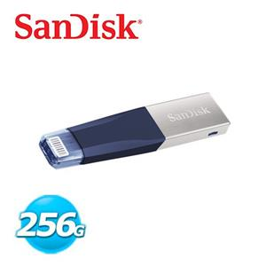 Sandisk iXpand Mini OTG雙用隨身碟 256G (藍)
