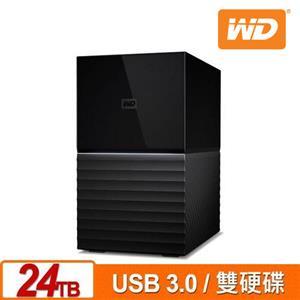 WD My Book Duo 24TB 3.5吋雙硬碟儲存(12TBx2)