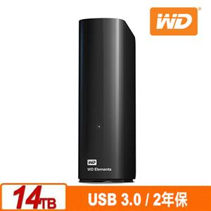 WD Elements Desktop 14TB 3.5吋外接硬碟(SESN)