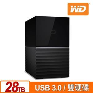 WD My Book Duo 28TB(14TBx2) 3.5吋雙硬碟儲存
