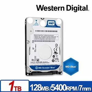 WD10SPZX 藍標 1TB(7mm) 2.5吋硬碟