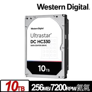 WD 威騰 Ultrastar DC HC330 10TB 3.5吋企業級硬碟