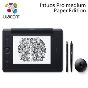 Wacom Intuos Pro Paper Edition Medium雙功能創意觸控繪圖板