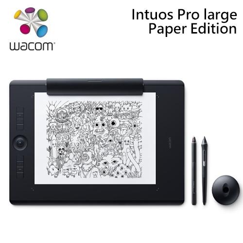 Wacom Intuos Pro Paper Edition Large 雙功能創意觸控繪圖板