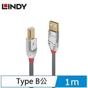 LINDY林帝 LINE USB2.0 TYPE-A/公 TO TYPE-B/公 傳輸線 1M