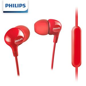PHILIPS飛利浦 SHE3555RD/00入耳式耳麥-紅色