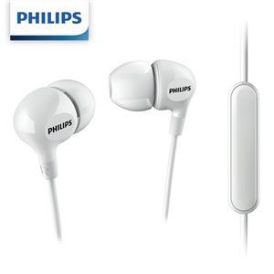 PHILIPS飛利浦 SHE3555WT/00入耳式耳麥-白色