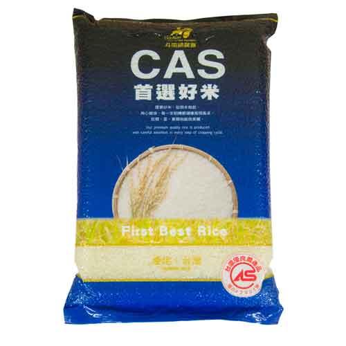CAS首選好米3公斤x6入/箱