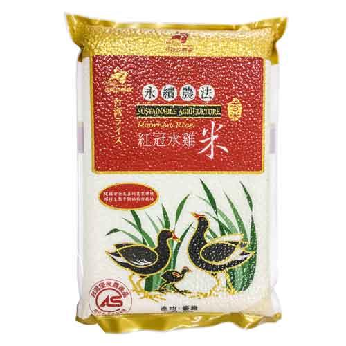 CAS永續農法香米3公斤x6入/箱