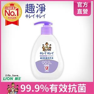 獅王趣淨抗菌洗手液-果香250mlX6