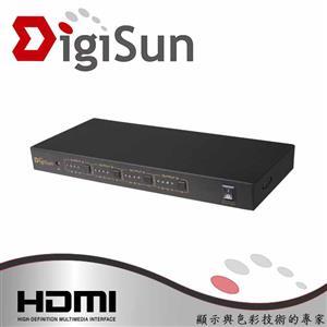 DigiSun VH644 1080P HDMI 四進四出矩陣切換器