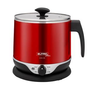 【福利品】EBK-09 歐頓2.2公升雙層防燙不鏽鋼美食鍋