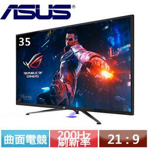 R1【福利品】ASUS華碩 35型 ROG Swift PG35VQ 超寬HDR曲面電競螢幕.