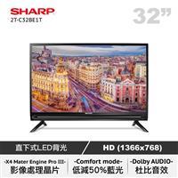 SHARP 32型聯網LED顯示器  2T-C32BE1T