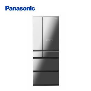 Panasonic600L玻璃六門日製冰箱黑  NR-F605HX-X1