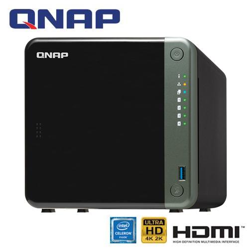 QNAP威聯通 TS-453D-8G 網路儲存伺服器