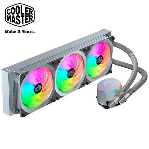 Cooler Master MasterLiquid ML360P 銀色版 ARGB水冷散熱器