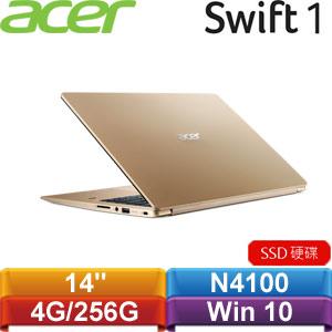 ACER宏碁 Swift 1 SF114-32-C4Z6 14吋筆記型電腦 金