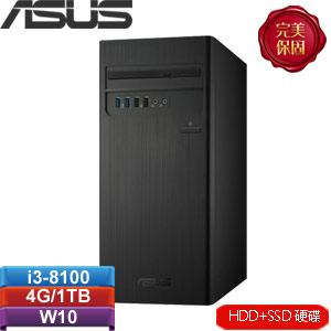 ASUS華碩 H-S340MC-I38100118T 桌上型電腦