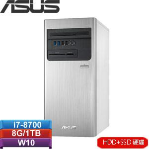 ASUS華碩 H-S640MB-I78700071T 桌上型電腦
