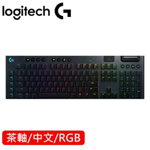 Logitech 羅技 G913 LIGHTSPEED無線 Tactile 觸感軸遊戲鍵盤 茶軸