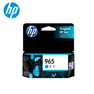 HP NO.965 藍色原廠墨水匣 (3JA77AA)