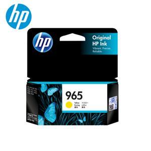 HP NO.965  黃色原廠墨水匣 (3JA79AA)