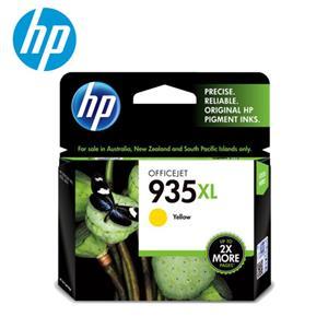 HP NO.935 XL 黃色原廠高容量墨水(C2P26AA)